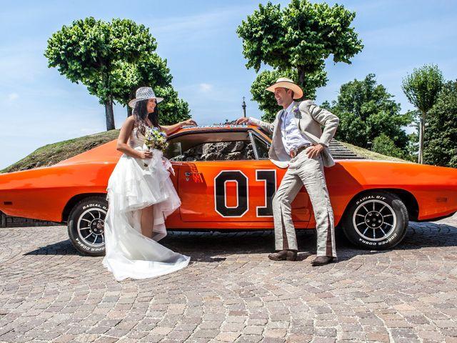 Il matrimonio di Luigi e Erika a Rodero, Como 9
