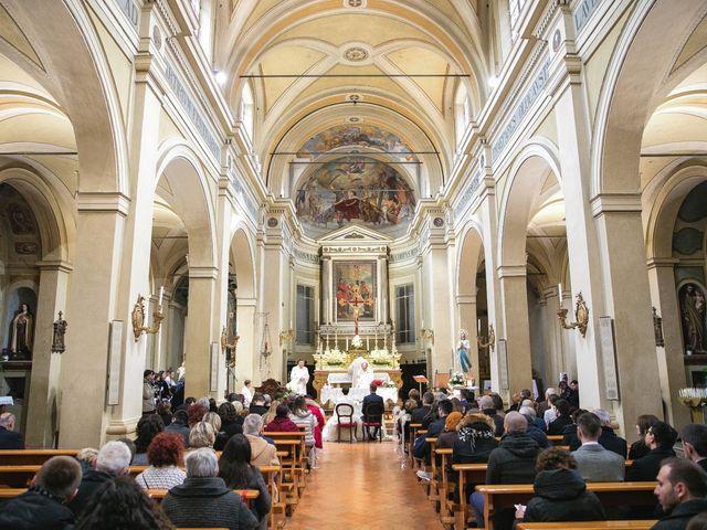 Il matrimonio di Luca e Cecilia a Sant'Ilario d'Enza, Reggio Emilia 16