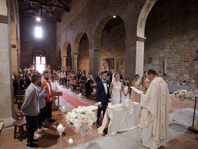Il matrimonio di Filippo e Miriam a San Giovanni Valdarno, Arezzo 27