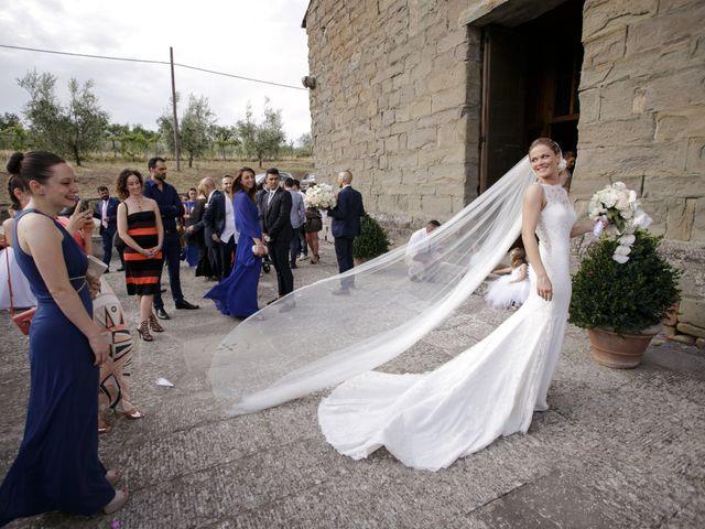 Il matrimonio di Filippo e Miriam a San Giovanni Valdarno, Arezzo 32