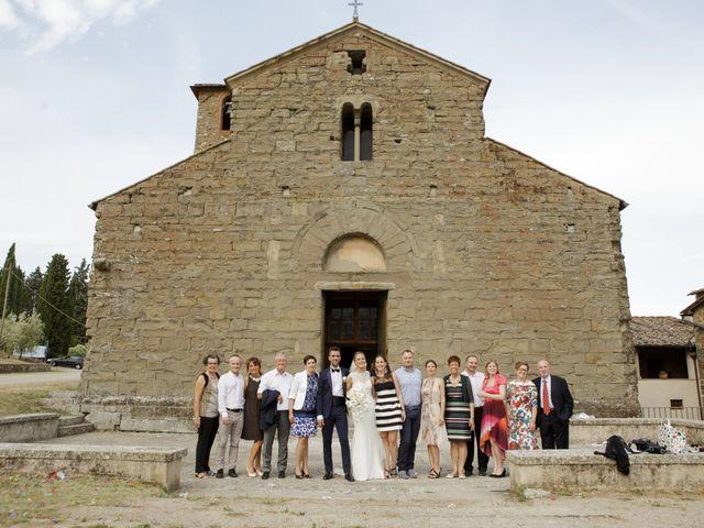 Il matrimonio di Filippo e Miriam a San Giovanni Valdarno, Arezzo 33