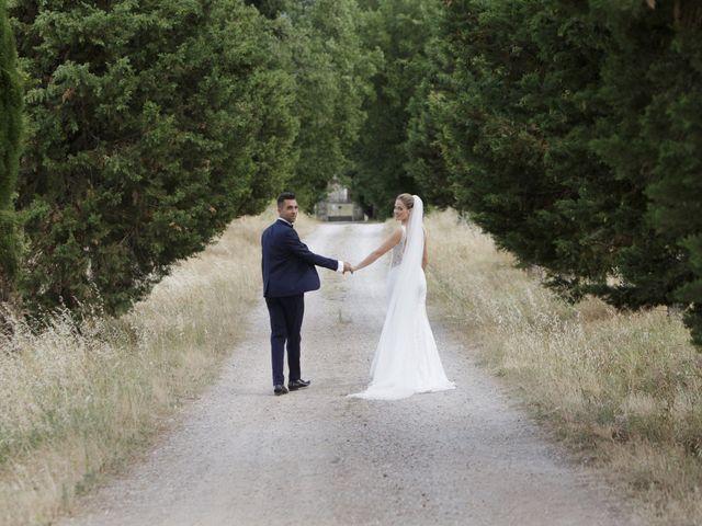 Il matrimonio di Filippo e Miriam a San Giovanni Valdarno, Arezzo 35