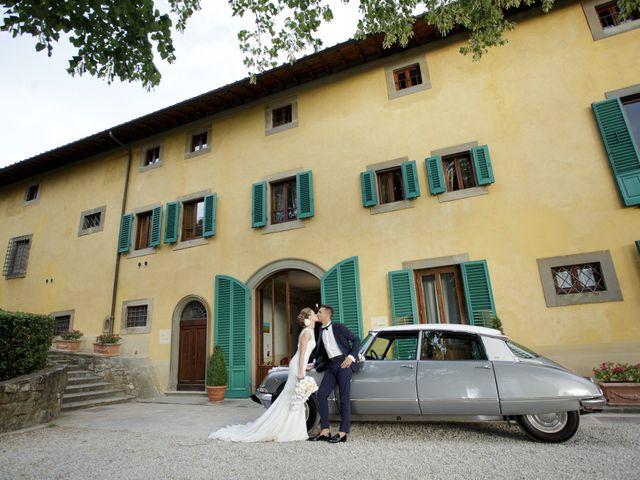 Il matrimonio di Filippo e Miriam a San Giovanni Valdarno, Arezzo 38