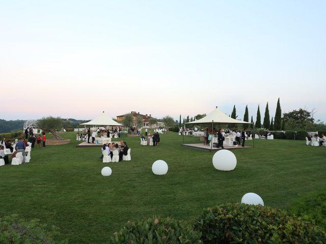 Il matrimonio di Dario e Valentina a Palaia, Pisa 11