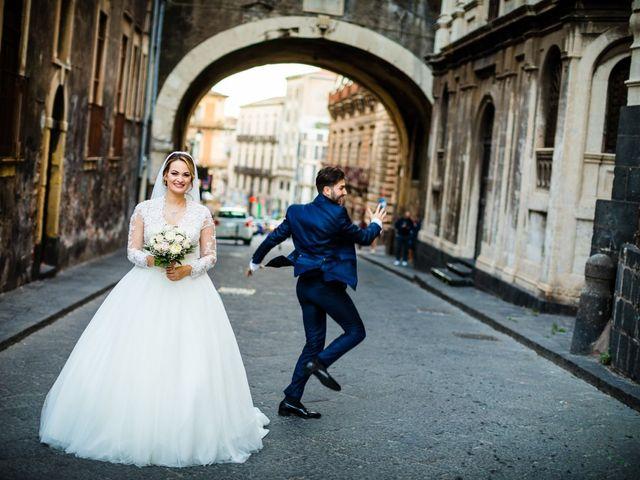 Il matrimonio di Federica e Rosario a Catania, Catania 33