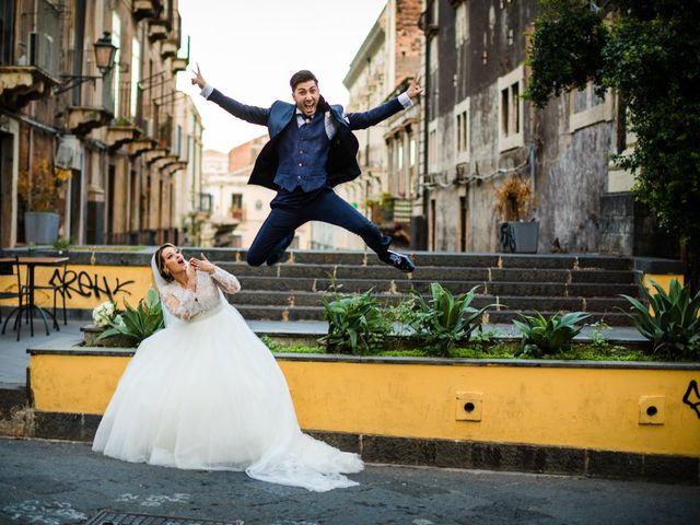 Il matrimonio di Federica e Rosario a Catania, Catania 34