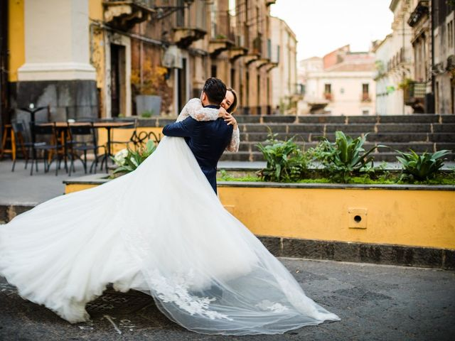 Il matrimonio di Federica e Rosario a Catania, Catania 36