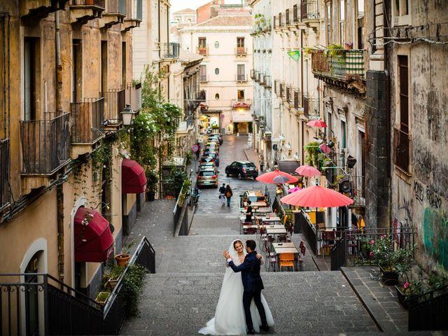 Il matrimonio di Federica e Rosario a Catania, Catania 37