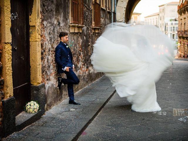Il matrimonio di Federica e Rosario a Catania, Catania 39