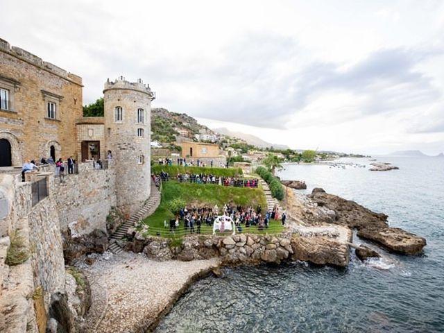Il matrimonio di Chiara e Pietro a Trabia, Palermo 1