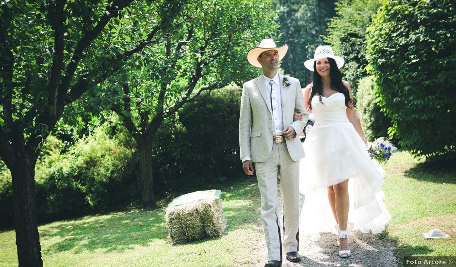 Il matrimonio di Luigi e Erika a Rodero, Como