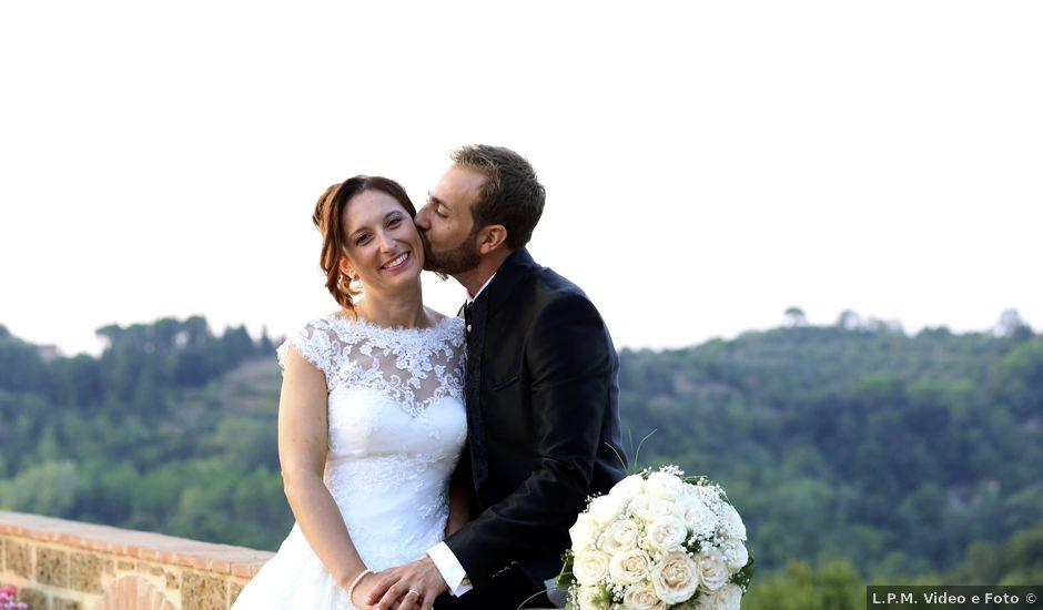Il matrimonio di Dario e Valentina a Palaia, Pisa