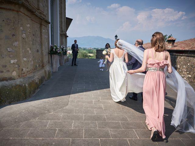Il matrimonio di Lorenzo e Giulia a Adro, Brescia 25