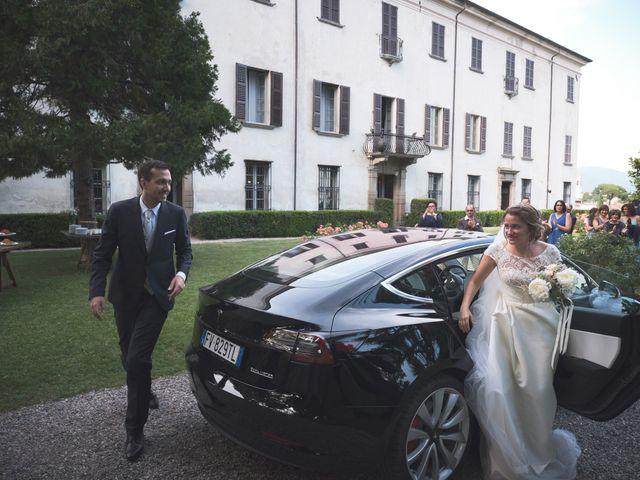 Il matrimonio di Lorenzo e Giulia a Adro, Brescia 65