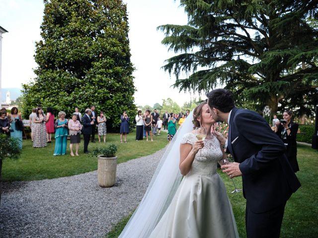 Il matrimonio di Lorenzo e Giulia a Adro, Brescia 66