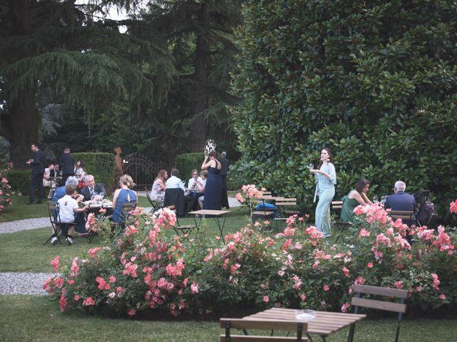 Il matrimonio di Lorenzo e Giulia a Adro, Brescia 80