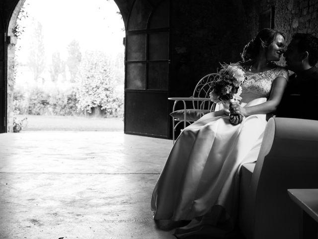 Il matrimonio di Lorenzo e Giulia a Adro, Brescia 86