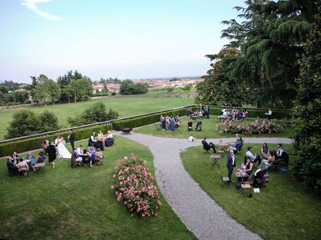 Il matrimonio di Lorenzo e Giulia a Adro, Brescia 97