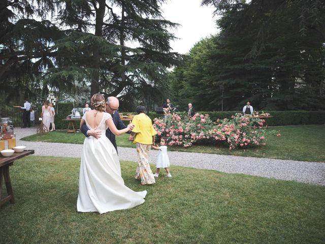 Il matrimonio di Lorenzo e Giulia a Adro, Brescia 98