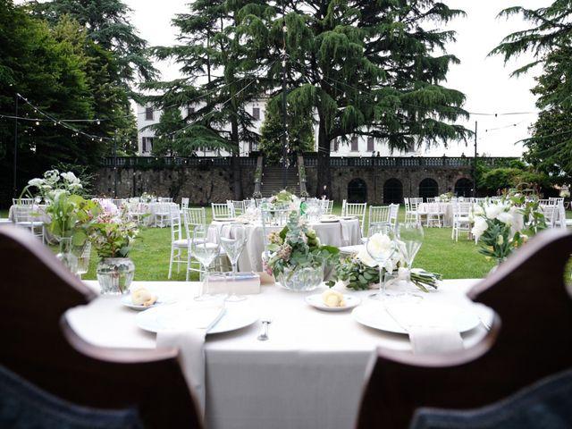 Il matrimonio di Lorenzo e Giulia a Adro, Brescia 100