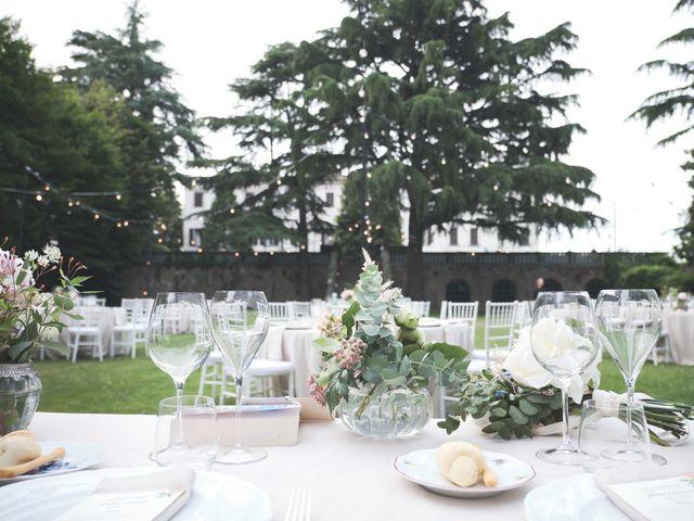 Il matrimonio di Lorenzo e Giulia a Adro, Brescia 101