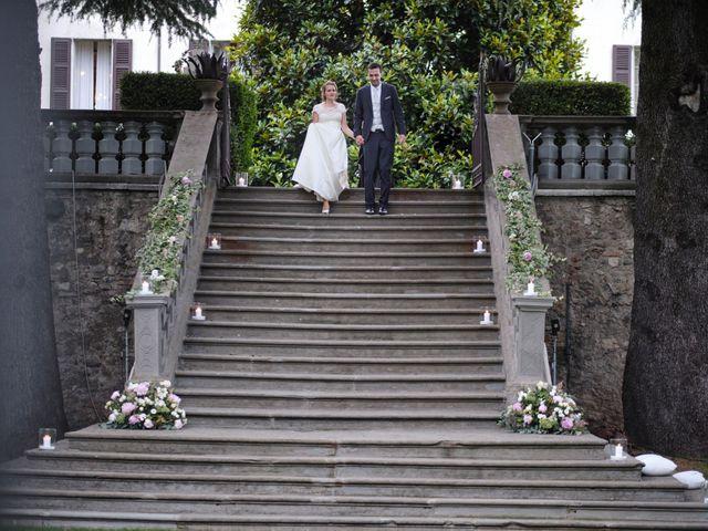 Il matrimonio di Lorenzo e Giulia a Adro, Brescia 112