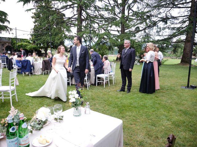 Il matrimonio di Lorenzo e Giulia a Adro, Brescia 117
