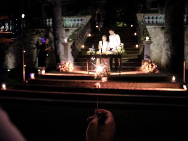 Il matrimonio di Lorenzo e Giulia a Adro, Brescia 141