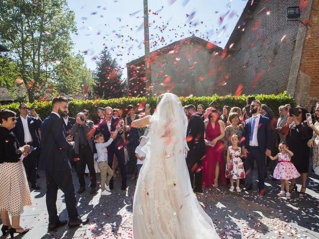 Il matrimonio di Lorenzo e Giulia a Arese, Milano 37