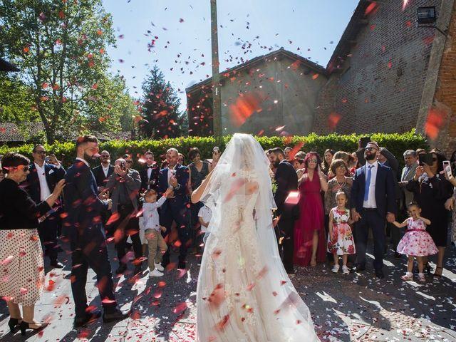 Il matrimonio di Lorenzo e Giulia a Arese, Milano 38