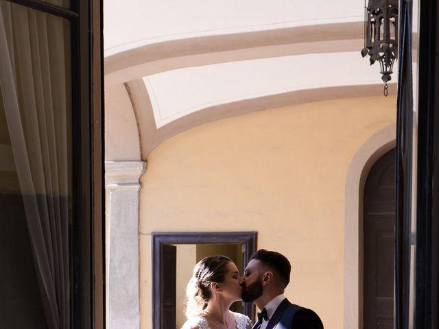 Il matrimonio di Lorenzo e Giulia a Arese, Milano 42