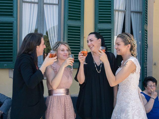 Il matrimonio di Lorenzo e Giulia a Arese, Milano 43