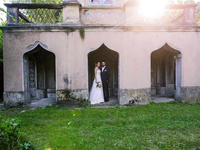 Il matrimonio di Lorenzo e Giulia a Arese, Milano 45