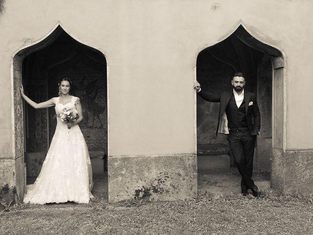 Il matrimonio di Lorenzo e Giulia a Arese, Milano 46