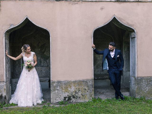 Il matrimonio di Lorenzo e Giulia a Arese, Milano 47