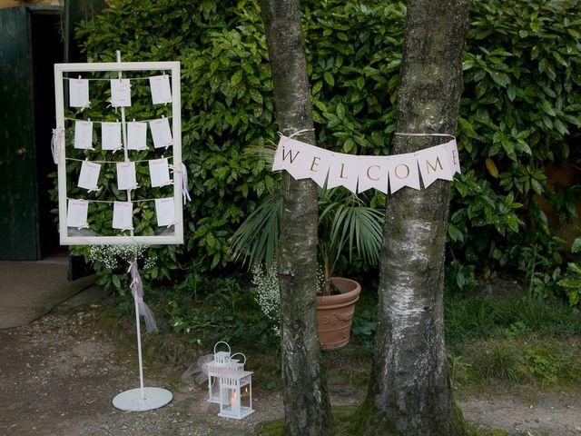 Il matrimonio di Lorenzo e Giulia a Arese, Milano 53