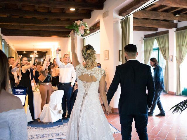 Il matrimonio di Lorenzo e Giulia a Arese, Milano 54