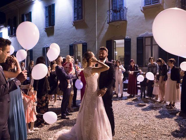 Il matrimonio di Lorenzo e Giulia a Arese, Milano 59