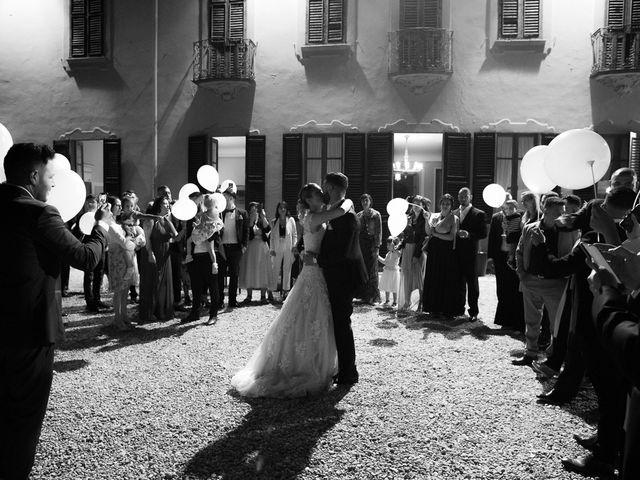 Il matrimonio di Lorenzo e Giulia a Arese, Milano 60