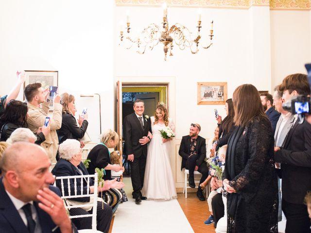 Il matrimonio di Daniele e Jessica a Dicomano, Firenze 34