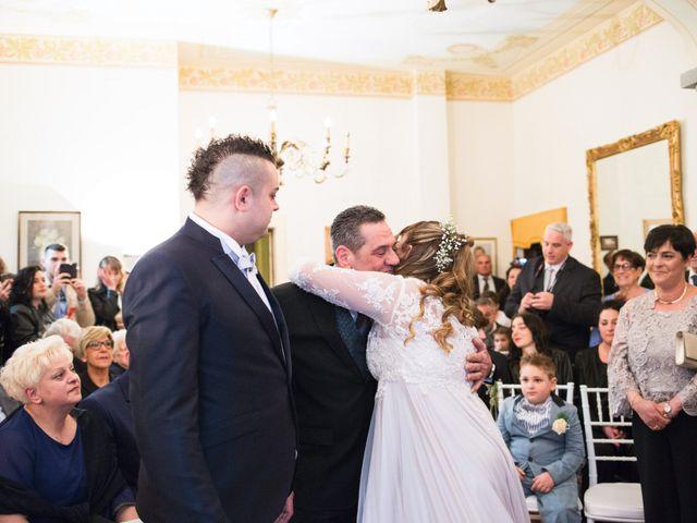Il matrimonio di Daniele e Jessica a Dicomano, Firenze 35
