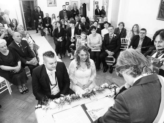 Il matrimonio di Daniele e Jessica a Dicomano, Firenze 38