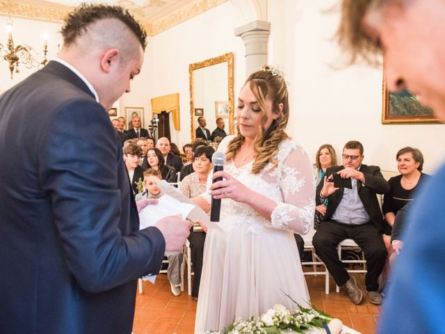 Il matrimonio di Daniele e Jessica a Dicomano, Firenze 40