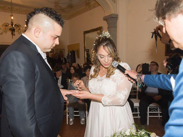 Il matrimonio di Daniele e Jessica a Dicomano, Firenze 44