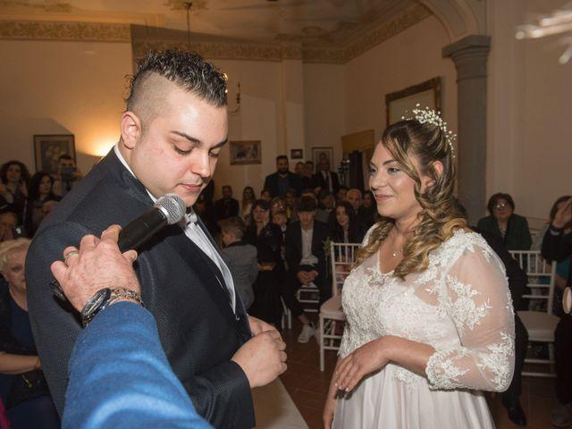 Il matrimonio di Daniele e Jessica a Dicomano, Firenze 46