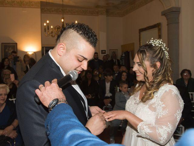 Il matrimonio di Daniele e Jessica a Dicomano, Firenze 48