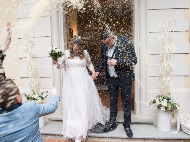 Il matrimonio di Daniele e Jessica a Dicomano, Firenze 50