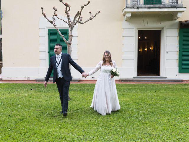 Il matrimonio di Daniele e Jessica a Dicomano, Firenze 56