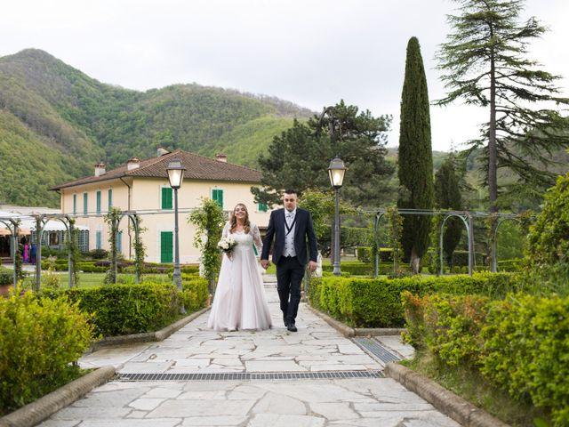 Il matrimonio di Daniele e Jessica a Dicomano, Firenze 57