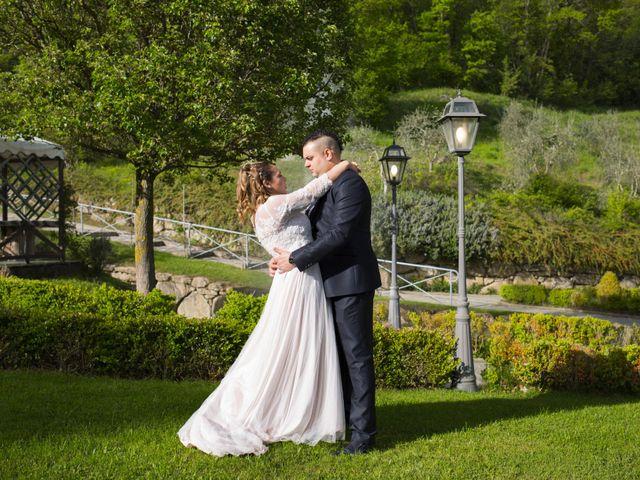Il matrimonio di Daniele e Jessica a Dicomano, Firenze 64